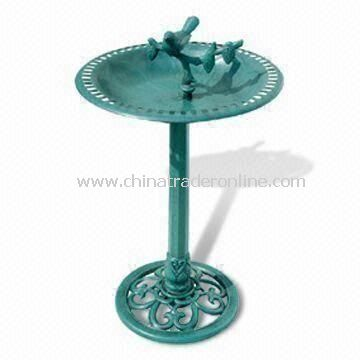Bird Bath, Made of Plastic, Available in Size of 50.5 x 85cm