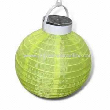 Camping Lantern Light, Made of ABS Material, with 4V, 70mA Solar Panel