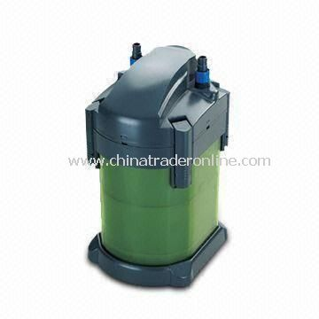 Canister/External Filter for Aquarium, Cleans the Water in a Closed and Circular System