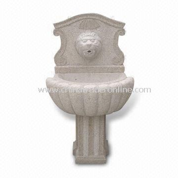 Fountain, Made of Chinese Natural Stone, Suitable for Garden Decoration