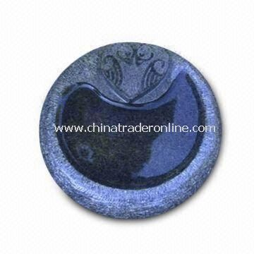 Garden Bird Bathing Basin, Made of Granite, Various Colors and Sizes are Available