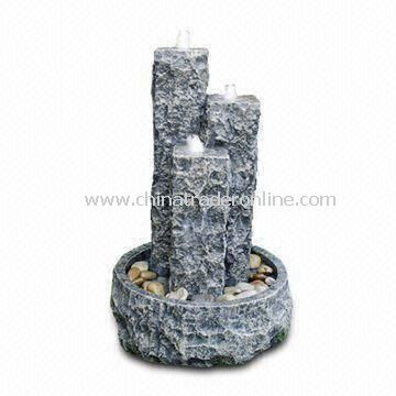 Granite Fountain/Garden Ornaments, Ideal Stone Water Decoration for your Yard and Garden