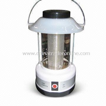 LED Camping Lantern, Can Use Dry Batteries, Available with Adjustable Brightness Switch