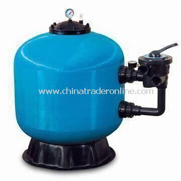 Pool Filter, Sized 16 to 80 Inches and 2.5kg/cm Working Pressure