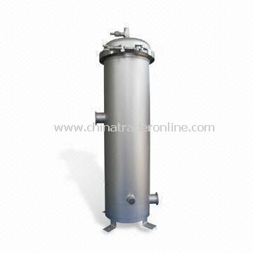 Security Filter Housing with Stainless Steel Lid and 0.6MPa Pressure, 1.5mm Wall Thickness