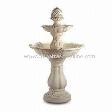 Stone Fountain, Used for Garden Decoration