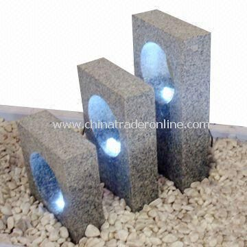 Stone Fountains, Made of Granite, Suitable for Garden and Park Decoration