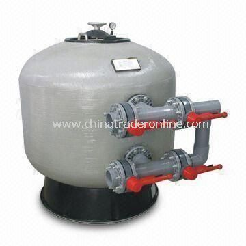 Swimming Pool Sand Filter with 1,450 to 2,520mm Height and 2.5kgt/cm2 Working Pressure