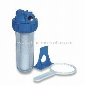 Water Purifier with 10-inch Filter Housing and Rib Cap, Maximum Working Pressure of 120psi