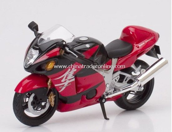 1:12 die cast motocycle - SUZUKI GSX 1300R