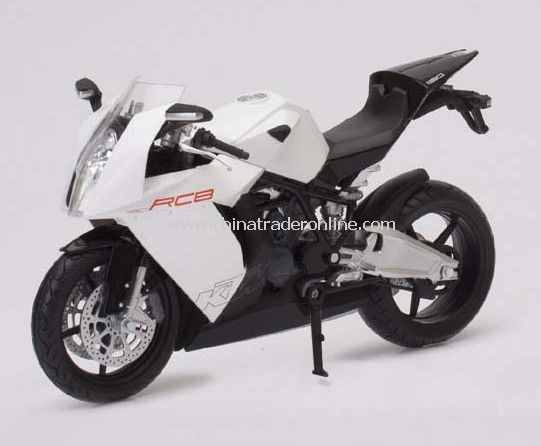 1:12 die cast motocycle- KTM RC8