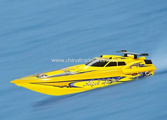 1:12 rc speed boat with 45 Inch length, water cooling 550 motor