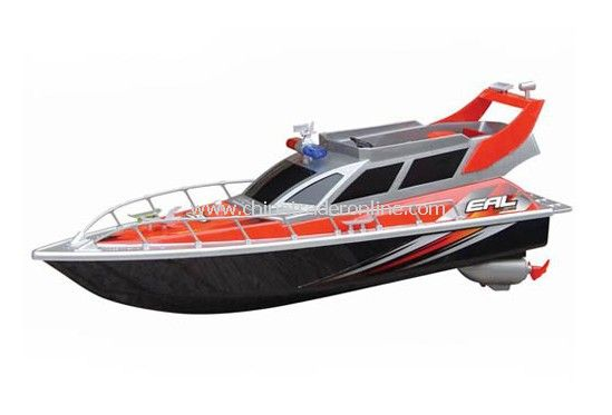 1:20 SUPER SPEED POLICE YACHT Electric Remote Control Boat from China