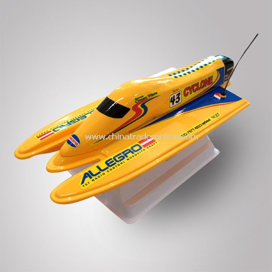1:25 scale RC F1 boat