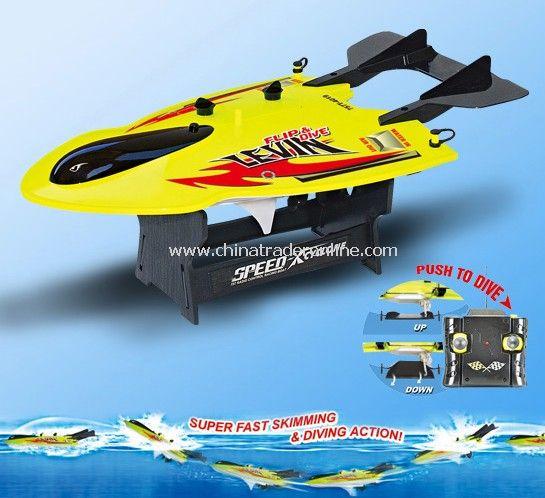 1:30 Scale Radio Control boat - FLIP & DIVE LEVIN
