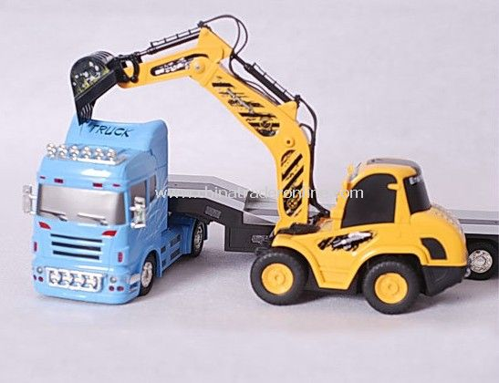 1:32 RC TOW TRUCK WITH CONSTRUCTION TRUCK