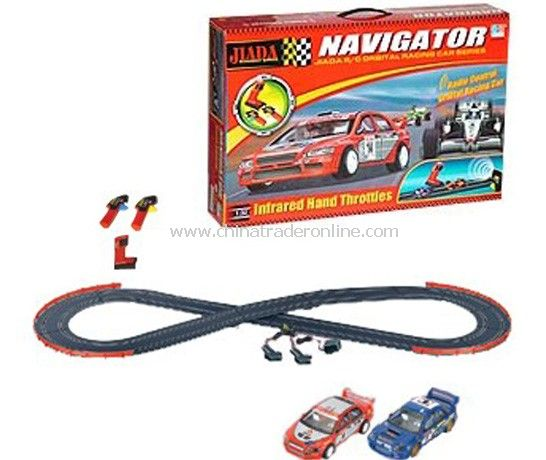 1:32 slot car with track
