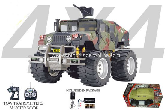 1:4 4WD Off Road Warrior