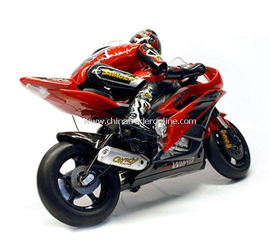 1:5 Scale RTR Electric RC Motorcycle