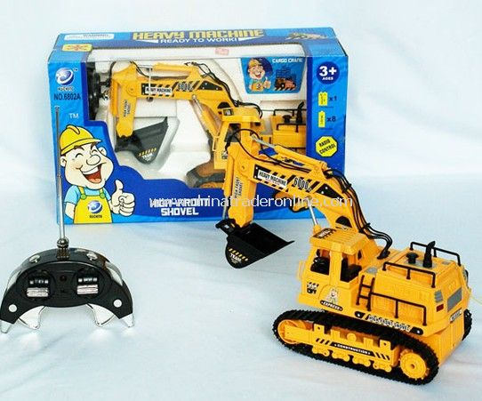 7ch RC Excavator from China