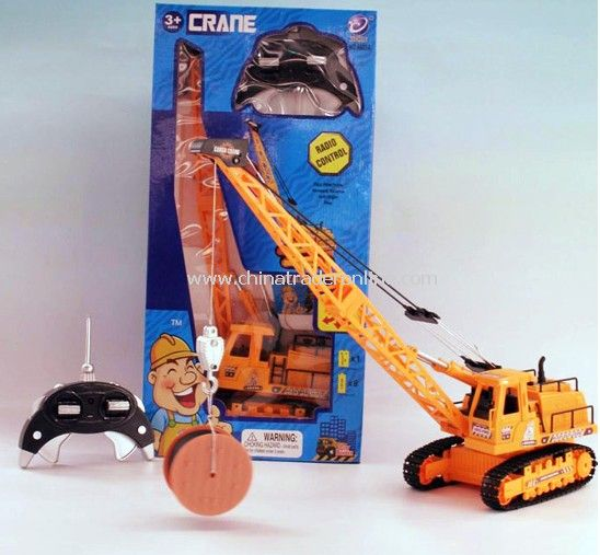 8ch RC Mobile Construction Crane