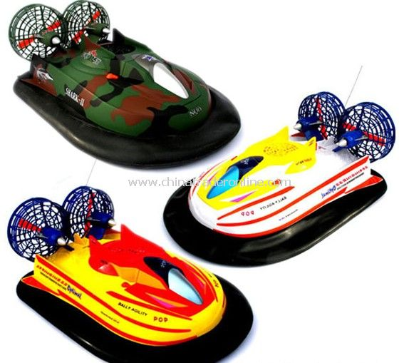 Aerodynamic Style Hovercraft With 3 Powerful Motors from China