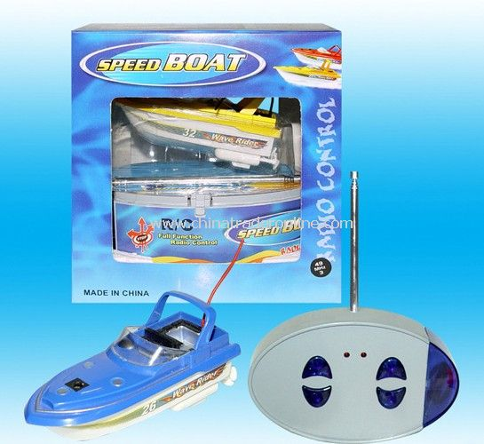 Mini RC Boat,9.5cm long from China