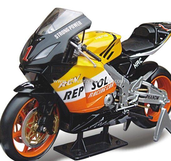 Motor Racing static model / KAWASAKI-ZX-12R full simulation of motorcycle