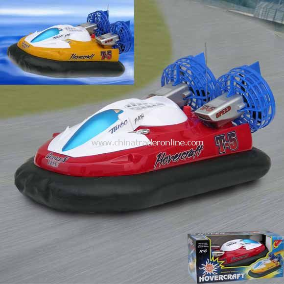 Radio controlled hovercraft