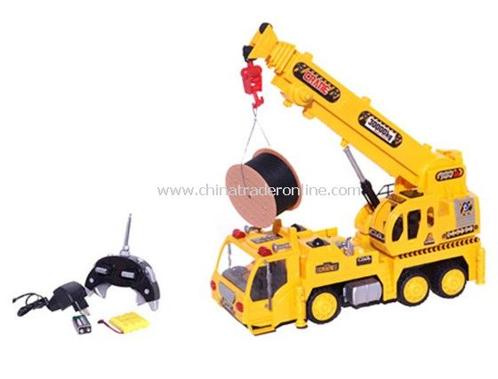 RC Electric Heavy Machine Crane Truck from China