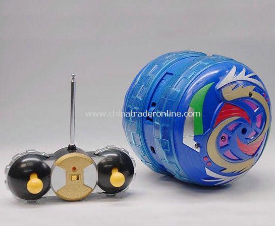 RC flash light rolling ball