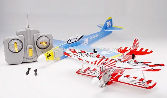 The New Air Force Dual RC Mini Electric Bi-Plane, WarPlane