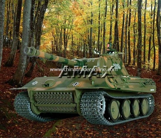 upgrade version of 1:16 Radio Control Battle Tank German Panther