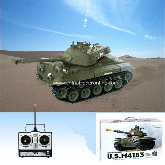 US M41A3 Bulldog - 1:16 RC Tank