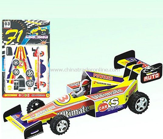 3D EQUATION CAR PULL BACK 5 STYLES