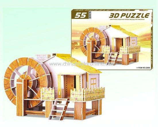 3D PUZZLE HOUSE(BIG)