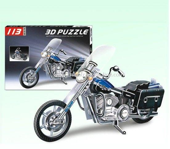 3D PUZZLE MOTO(BIG)