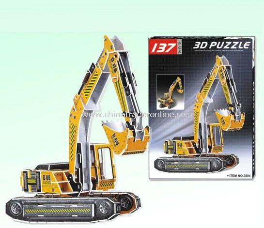 3D PUZZLE TRUCK (BIG)