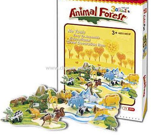Animal Forest (12 animals)