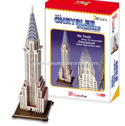 Chrysler Building New York, United States from China