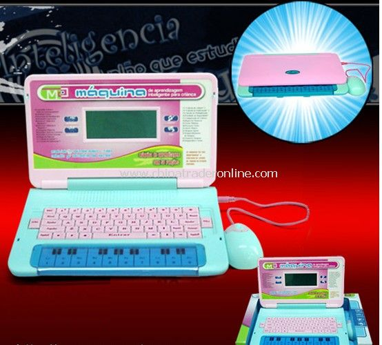 Portuguese childrens laptop from China