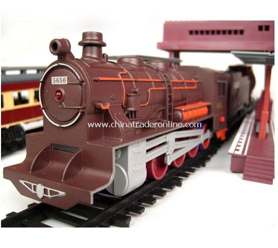 The new super-fun toy -trains electric trains-train tracks from China