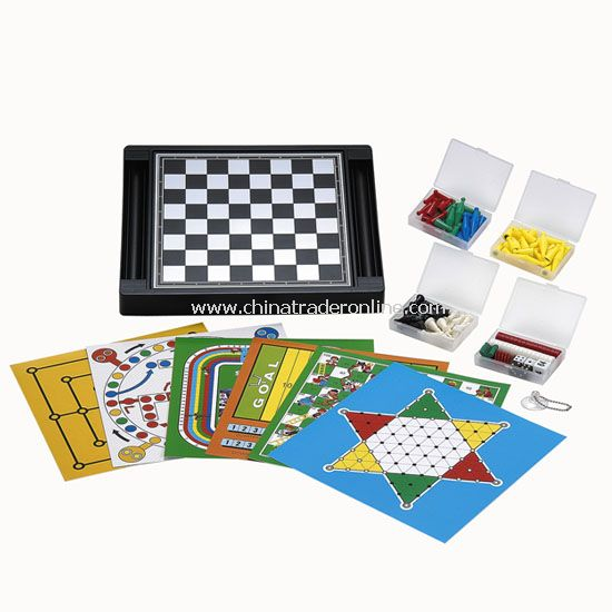 16 in 1 Magnetic Chess