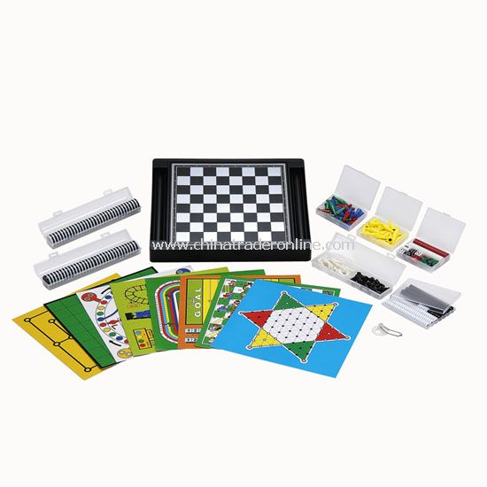 21 in 1 Magnetic Chess