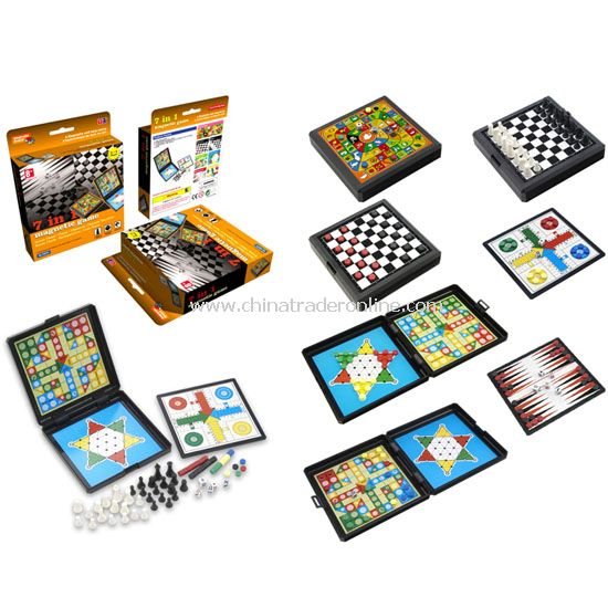 7 in 1 Magnetic Chess