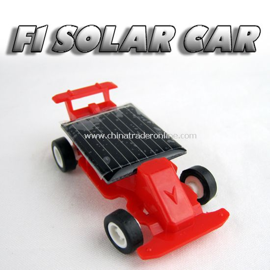 F1 Solar car from China