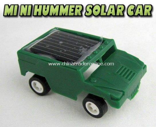 hummer Solar car