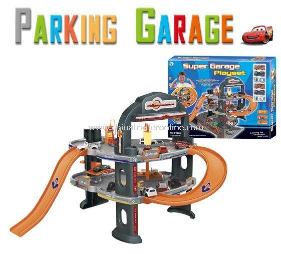 Parking lot Pretend Sets toy