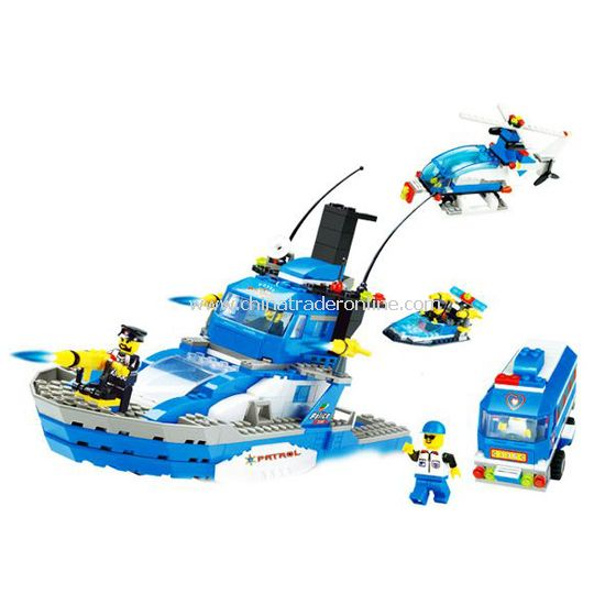 PARTOL VEHICLE toy bricks, building blocks