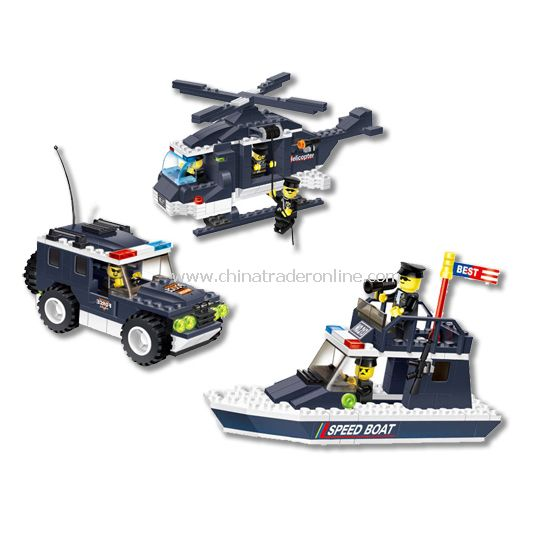 POLICE ACTION toy bricks